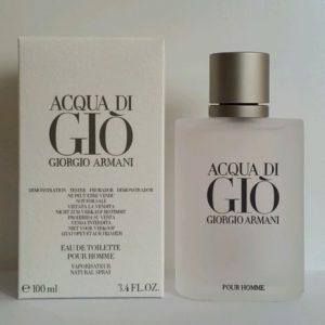 Giorgio Armani Acqua Di Gio Pour Homme EDT 100ml erkek tester parfum